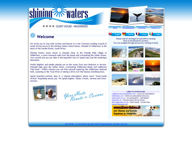Shining Waters Guest House - Home